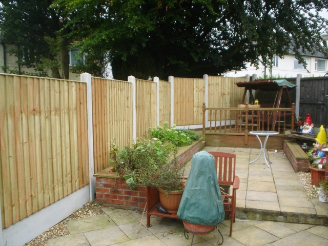 Feather Edge Fence